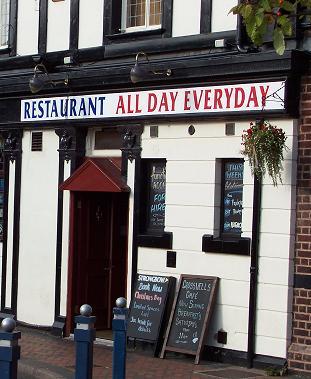 Crosswells pub,Langley