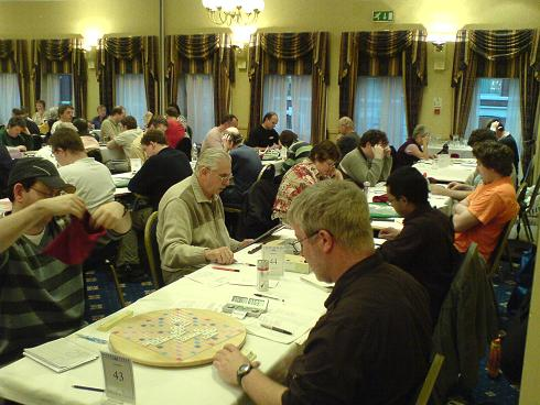 The Scrabble Elite in action